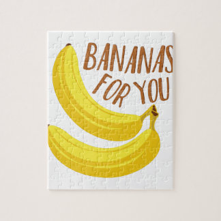 Bananas For You Jigsaw Puzzle
