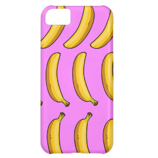 Banana's! On Hot Pink! iPhone 5C Case