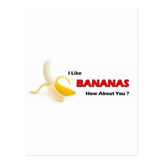 Bananas Postcard