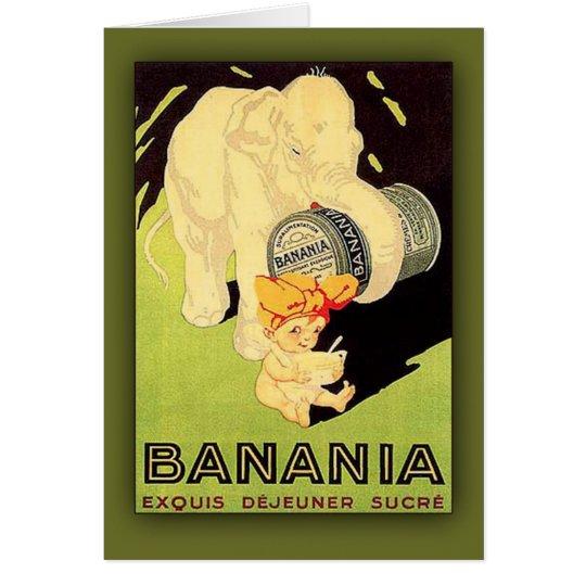 Banania Exquis Dejeuner Sucre Art Card