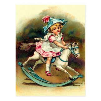 Banbury Cross Nursery Rhyme Postcard