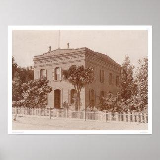Bancroft Library at 1538 Valencia Street (1421) Poster