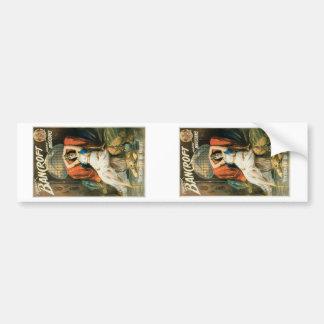 Bancroft ~ Prince of Magicians Vintage Magic Act Bumper Sticker