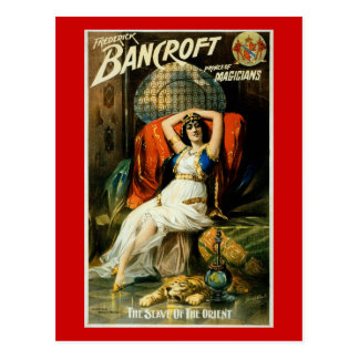 Bancroft ~ Slave of the Orient Postcard