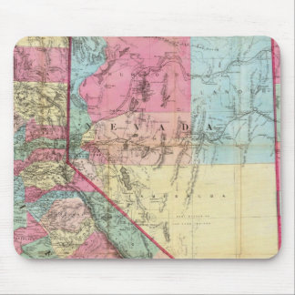 Bancroft's Map Of California, Nevada Mouse Mat