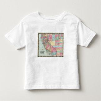 Bancroft's Map Of California, Nevada Toddler T-Shirt