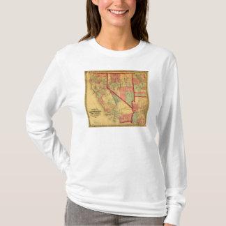 Bancroft's Map Of California, Nevada, Utah T-Shirt