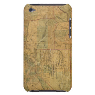 Bancroft's Map Of The Pacific States iPod Touch Case