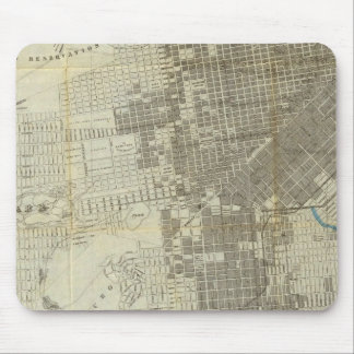 Bancroft's Official San Francisco City Map Mouse Pad