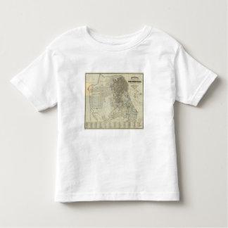 Bancroft's Official San Francisco City Map Toddler T-Shirt