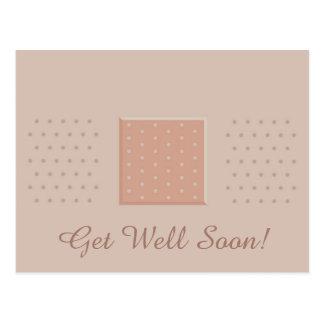 Band-Aid Get Well Soon - Postcard