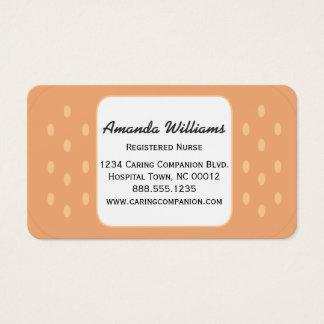 Band-aid Nurse or Caregiver Business Card