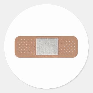 Band Aid Round Sticker
