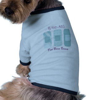 Band-Aids For Boo Boos Ringer Dog Shirt