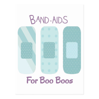 Band-Aids For Boo Boos Postcard