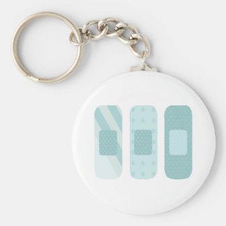 Band Aids Keychain