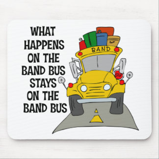 Band Bus Mousepad