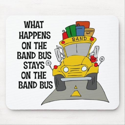 Band Bus Mousepad