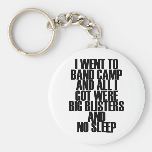 Band Camp Blisters Key Chains