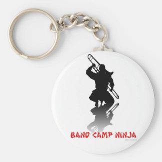 Band Camp Ninja Basic Round Button Key Ring