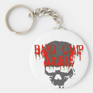 Band Camp Zombie Basic Round Button Key Ring