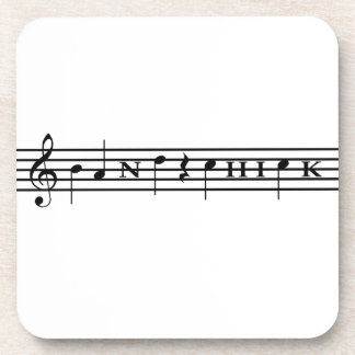Band Chick Drink Coaster