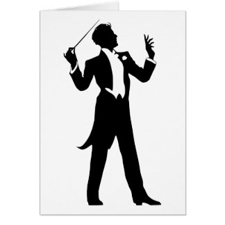 Band Conductor Card