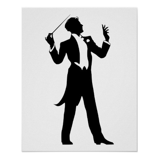 Band Conductor Print