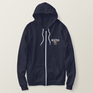 Band Dad Embroidered Hoody