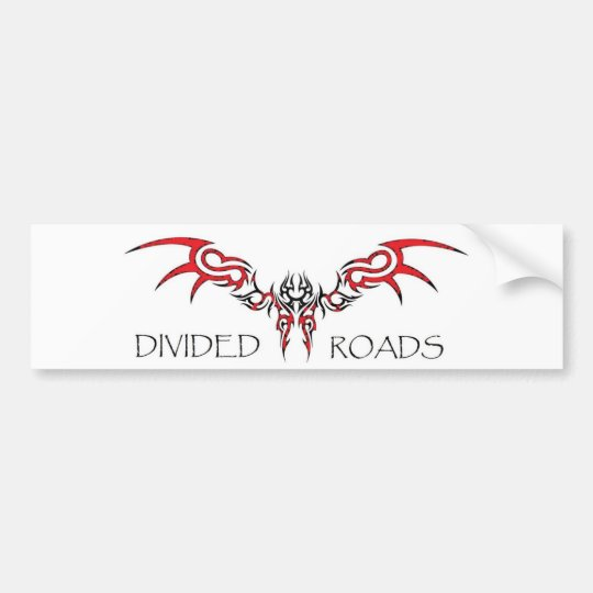 Band design bumper sticker