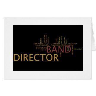 Band Director Card