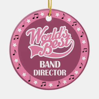 Band Director Gift For Her Christmas Ornament