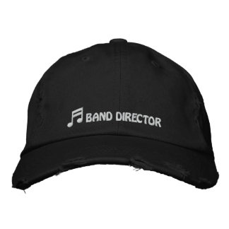 Band Director Hat Embroidered Cap