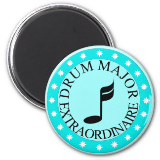 Band Drum Major Gift 6 Cm Round Magnet