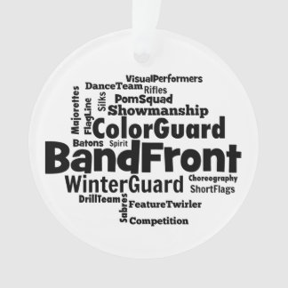 Band Front Word Cloud