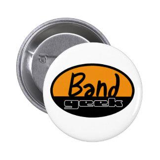 Band Geek 6 Cm Round Badge
