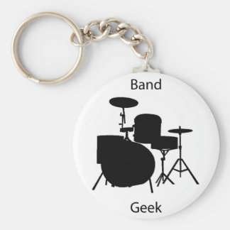 Band geek key chains