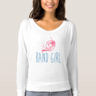 Band Girl French Horn T-Shirt