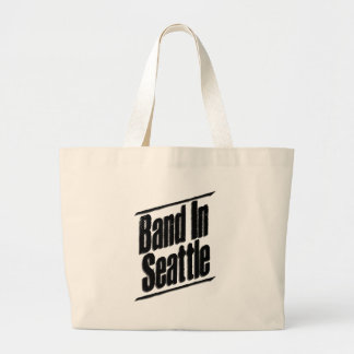 Band In Seattle Logo Tote Bag