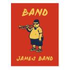 Band, James Postcard