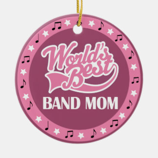Band Mom Gift For Her Christmas Ornament