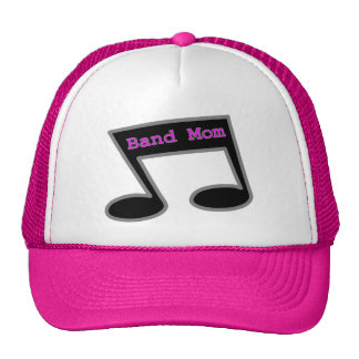 Band Mom Music Note Hat