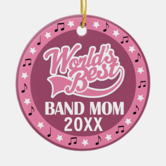 Band Mom Personalized Thank You Gift Christmas Ornament