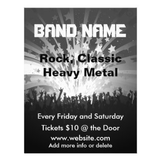 Band Music Concert Flyer