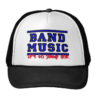 Band Music: It's To Jump For Trucker Hat