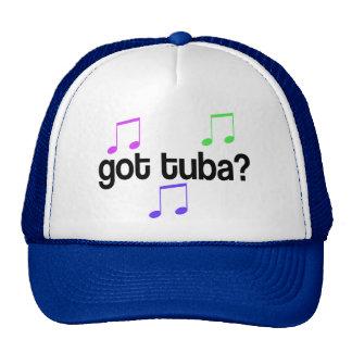 Band Music Tuba Cap