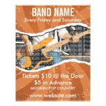 Band Name Music Flyer 2