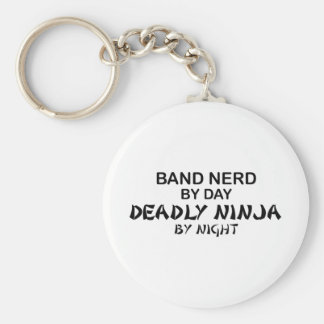 Band Nerd Deadly Ninja by Night Keychains