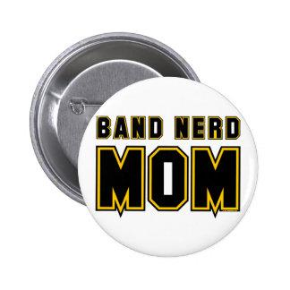 Band Nerd Mom 6 Cm Round Badge