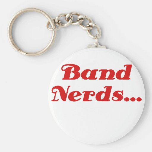 Band Nerds Keychain